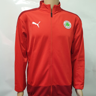 Red Training Jacket
